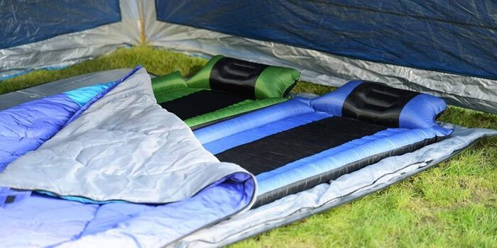 best camping beds for bad backs